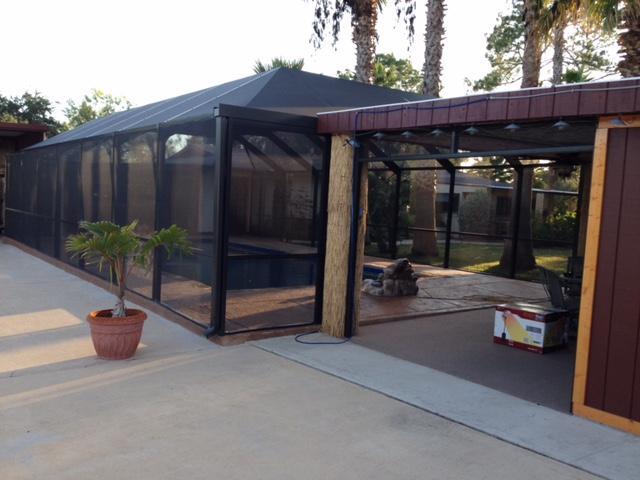 Swimming Pool Enclosures In San Antonio Tx Texas Custom Exteriors
