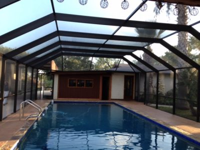 Pool enclosure in san antonio texas