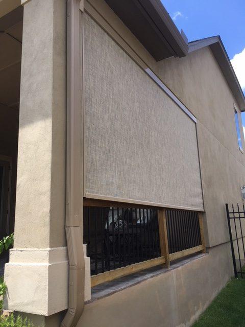 Retractable Amp Motorized Screens Installation San Antonio