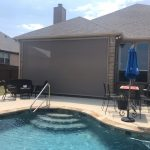 Retractable screen in San Antonio