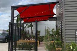 restaurant shade structure